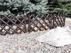 Gartenzaun Kunststoff Braun - plastic garden fence panels boarder lawn palisade edge