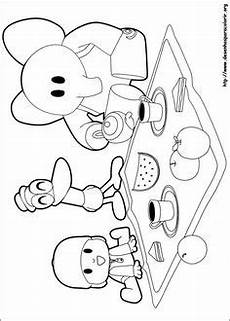 Malvorlagen Arielle Font Free Printable Pocoyo Coloring Pages For Coloring