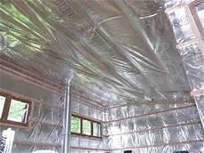 Pare Vapeur Notre Maison En Bois Pose Du Pare Vapeur Du Plafond De L