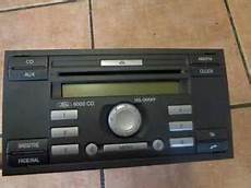 ford fusion bj 2006 autoradio radio 6000 cd single cd