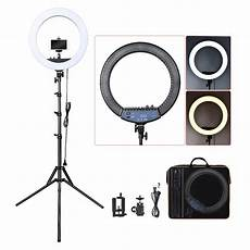 Inch Dimmable Ring Light Tripod by China 18 Inch 55w Dimmable Led Circle Makeup Selfie Ring
