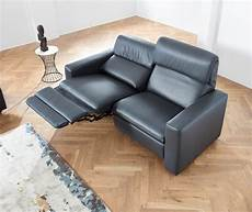 ledercouch mit relaxfunktion ledersofa duo mit optionaler relaxfunktion dewall design
