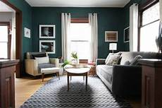 my dark teal living room deuce cities henhouse