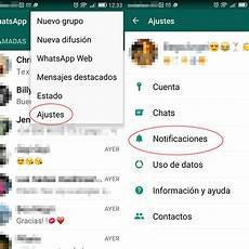 como cambiar el tono de whatsapp tonos de c 243 mo cambiar los tonos de notificaci 243