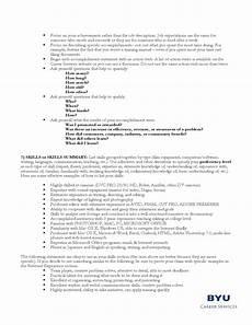 guidelines for a filmmaker s resume free download