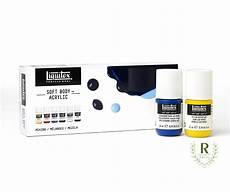 liquitex professonal soft acrylic paint mixing 22ml 6 colors