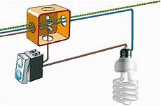 accensione di un punto luce con un interruttore elettricit 224 fai da te nel 2019 cablaggio