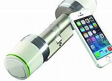 elektronische schließzylinder haustür iseo libra smart elektronischer schlie 223 zylinder mit app