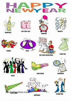 new year esl worksheets 19324 pin by sreejith nambiar on useful tips cards drawing newyear pictionary words