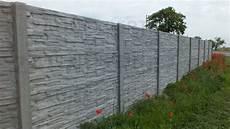 betonpfosten für gartenzaun betonzaun aufbau betonz 228 une betonzaun g 252 nstig inkl