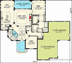 european house plans with walkout basement plan 89838ah european home plan with lower level house
