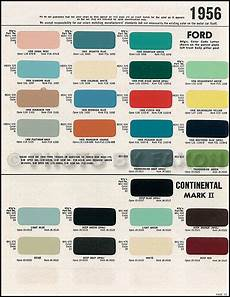 1956 1957 lincoln continental mark ii paint chips rare 9 original color sles ebay