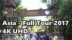asia at disney s animal kingdom full tour in 4k 2017