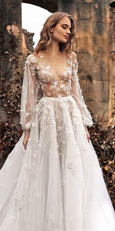 36 pretty floral wedding dresses for brides dream wedding dresses wedding dresses applique