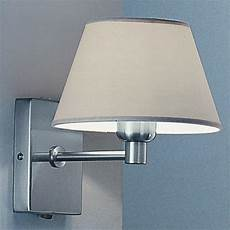 franklite wb501 9002 led fixed arm wall light satin nickel