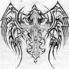 tribal cross drawing by coreytaylor4eva on deviantart