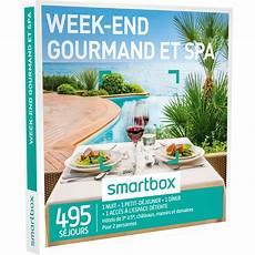 Smartbox Week End Gourmand Et Spa Coffret Cadeau