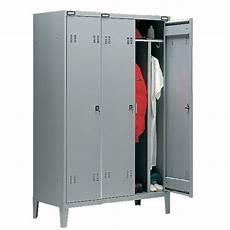 armadietto spogliatoio armadio spogliatoio a 3 posti cm 117x47x180h castellani