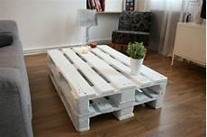 europaletten tisch weiß tisch aus paletten 33 wunderbare ideen archzine net