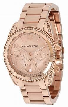 michael kors gold plated blair glitz mk5263 womens