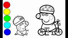 Peppa Wutz Ausmalbilder Fahrrad Peppa Wutz Ausmalbilder Fahrrad Kinder Ausmalbilder