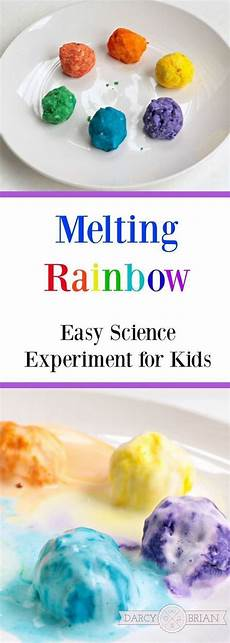 easy science experiments worksheets 12675 melting rainbow preschool science experiment preschool science activities science experiments