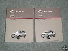free service manuals online 2003 lexus lx windshield wipe control sell 2005 lexus lx 470 repair manual vol 1 2 2003 2004 motorcycle in usa united states for