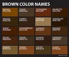 related image brown color palette brown color names brown color