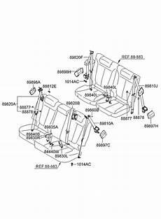 motor repair manual 2008 hyundai santa fe parking system 2008 hyundai santa fe rear seat belt hyundai parts deal