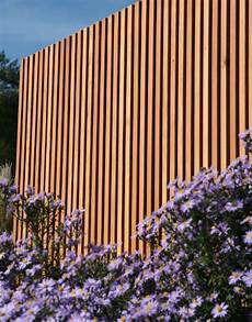 Sichtschutz Moderne Holz Lamellen Nach Ma 223 Walli