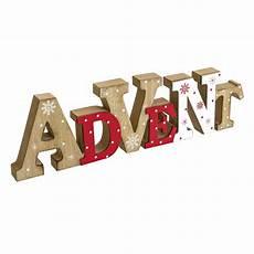 Deko Schriftzug Advent Holz Mdf Ca L40 X H11 5xt2 5 Cm