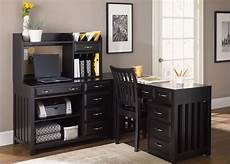 home office furniture black hton bay black home office set from liberty 717
