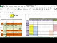 excel template for making reservations for common utilities like boardroom youtube