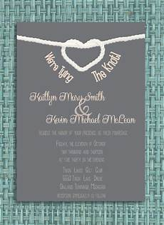 tying the knot wedding invitation diy printable invitation wedding ideas wedding invitations