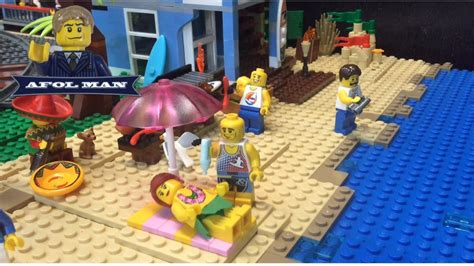 Lego City Update! Working On The Beach🏄🏻