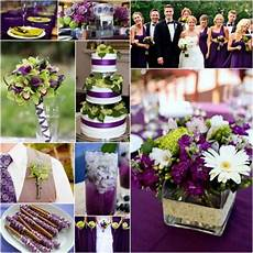 make your wedding pop with a purple and lime green