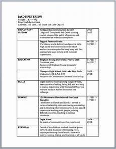 resume order of categories how to design a resume in microsoft word and other