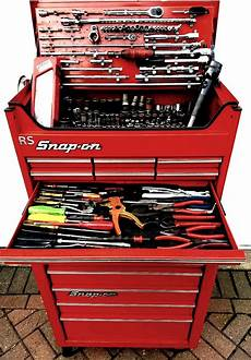 snap on metal whee cabl roller tool chest tool ocd in