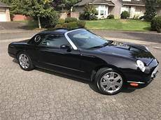 how it works cars 2002 ford thunderbird free book repair manuals 2002 ford thunderbird for sale 2242874 hemmings motor news