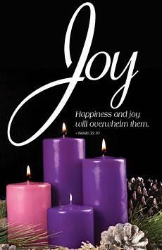 advent candle sunday 3 bulletin pkg of 50 cokesbury
