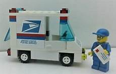 City Usps by Lego Custom City Usps Mail Delivery Set Truck Mailman
