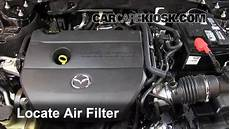 auto air conditioning repair 2012 mazda mazda6 engine control air filter how to 2009 2013 mazda 6 2012 mazda 6 i 2 5l 4 cyl