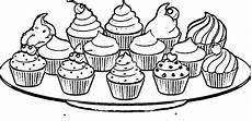 Malvorlagen Cake Cupcake Coloring Pages Free Coloring Home