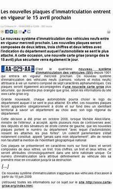 La Presse Parle De Carte Grise Org Articles De Presse