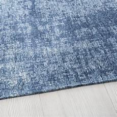 Blauer Teppich Mit Jacquardmuster 140x200 Maisons Du Monde