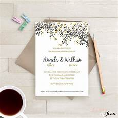 One Page Wedding Invitation one page wedding invitation qualads