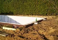 pool in der erde pool anlegen in 13 schritten obi