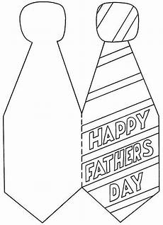 tie card pattern shape cards fathers day crafts