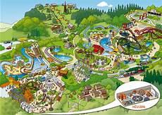 Parkplan Freizeitpark Fort Abenteuerland