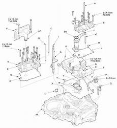 manual repair autos 2007 honda fit transmission control valve body and atf strainer removal a t transmission unit automatic transmission